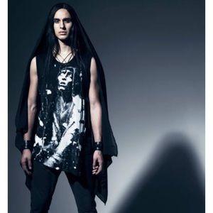 Alexandre Plokhov Designer Sleeveless Demon Top